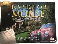 Inspector Morse Murder, Mystery Board Game based on Series One 3 cases to solve