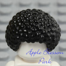NEW Lego Minifig BLACK HAIR - Male/Female Boy Short Curly Afro Bubble Head Gear