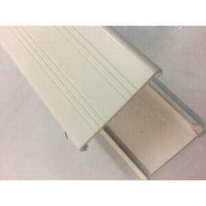 D Mould Trim Ex Large Size 32mm x 2.4m White Ceiling/Wall Board Static Caravan