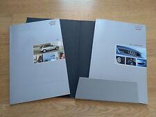 AUDI A3 DEPLIANT SALES BROCHURE opuscolo CARTELLINA con 2 DEPLIANT italiano 2003