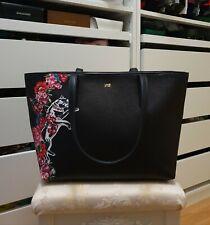 Original CAVALLI CLASS Tasche Schultertasche handtasche schwarz shopper bag