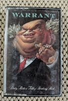 Dirty Rotten Filthy Stinking Rich by WARRANT Cassette Tape 1989, CBS Records
