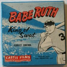 Babe Ruth King of Swat in Perfect Control 8mm Castle Films New York Yankees