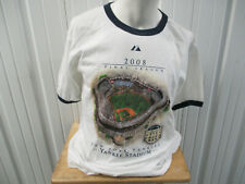 VINTAGE MAJESTIC NEW YORK YANKEES 2008 FINAL SEASON STADIUM LARGE T-SHIRT NWOT