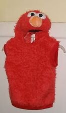 Elmo Halloween Costume Sesame Street Workshop 3-4 T Great Used Plush Unisex Top