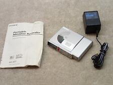 Sony Mz-R37 Vintage Mini Disc Md Walkman Recorder Nice