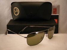 9b9c8a1d08 Ray Ban 3543 Gunmetal w Gold Mirror Polar Lens (RB3543 029 60)