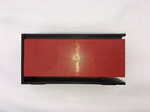 10w Speaker Bluetooth Wireless Universal Loud Bass + Mic Handsfree AUX Red Black