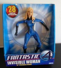 "FANTASTIC 4 Movie 12"" Poseable Figure: Invisible Woman 2005 ToyBiz FREE SHIPPING"