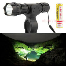 XML-T6 LED 5000LM Tactical Mount Flashlight Torch Shotgun/Rifle Hunting Light EO