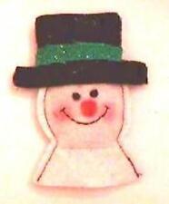 """Dr Daniels Mascota Vacaciones Muñeco de Nieve Sombrero Negro Catnip 4"""""""