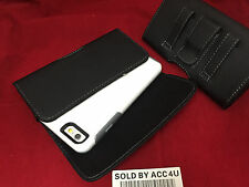 LEATHER CARRYING HOLSTER BELT CLIP POUCH FOR IPHONE 6S SYMMETRY COMMUTER CASE