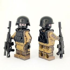 Custom Printed LEGO Russian Spetsnaz Special Forces in Gorka Suit Minifigure