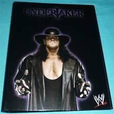 WWE Wrestling Ringbuch Ordner *UNDERTAKER* DIN A4 Karton NEU nxt wwf hulk hogan