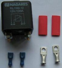 Nagares Relais Trennrelais RL180/12 180 Amp 12 V mit Kabelschuhen 35, 25, 16 mm²