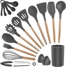 19Pcs Kitchen Utensils Set Silicone Cooking Utensils Heat Resistant Kitchen Tool