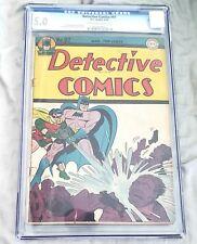 BATMAN IN DETECTIVE COMICS #97 CGC GRADED 5.0 1945  DC COMICS RARE
