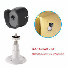 Wall Mount + Protective Cover Case Set For Arlo Pro (2) Smart Home Security Cams