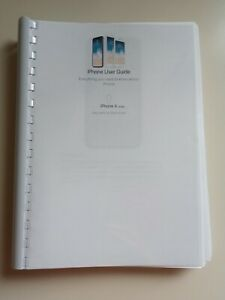 APPLE IPHONE X PRINTED INSTRUCTION MANUAL USER GUIDE 335 PAGES A5