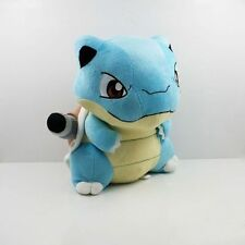 "6"" Turtle Pokemon Blastoise Plush Animati Toy Stuffed Doll Figure Kids Gift00"