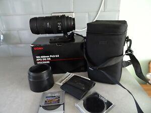 Sigma 120-400 F4.5-5.6 APO DG OS Sony fit.