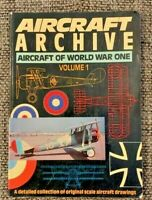 AIRCRAFT ARCHIVE - AIRCRAFT OF WORLD WAR ONE - VOLUME 1 (PAPERBACK)