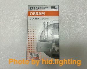 D1S 66140 OSRAM Original Xenon HID Car Headlight Bulb 35W (Single) 4200K