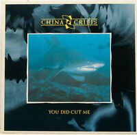 "CHINA CRISIS - YOU DID CUT ME / CHRISTIAN LIVE VERSION 12"" MAXI SINGLE (c96)"