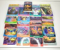 LOT of 21 Different GOOSEBUMPS BOOKS by R L STINE Vintage Horror + The Overnight