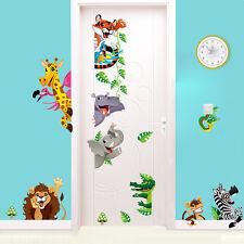 Wandsticker XXL Deko Tiere Kinder Affe Kinderzimmer Krokodil Giraffe Tattoo Löwe