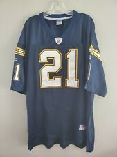 Reebok Authentic NFL San Diego Chargers LaDanian Tomlinson #21 Jersey Men 56 3XL