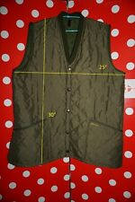 Men's BARBOUR ESKDALE WAISTCOAT  sz XL Snap Quilted Vest jacket