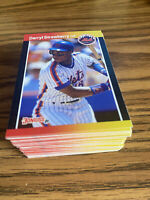(100) 1989 Donruss Darry Strawberry #147 New York Mets NR-MT+ Recent Set Breaks