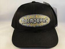 Kids Youth Size Animorphs Vintage Snapback Cap Hat Annco Black