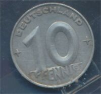 DDR Jägernr: 1507 1952 E vorzüglich Aluminium 1952 10 Pfennig (8267867