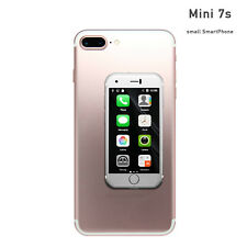 Mini Smartphone Unlocked 7S - Tiny iPhone Look Alike World's Smallest 7S Android