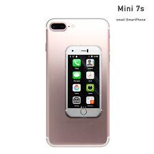 Mini Smartphone Unlocked 7S - Tiny iPhone Look Alike World's Smallest 7S Android