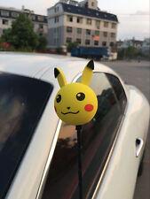 Yellow Pokemon Go Pikachu Antenna Ball Car Aerial Ball Antenna Topper Pen Ball