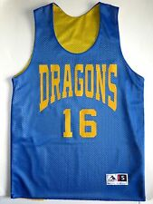 Augusta Sportswear Dragons Reversible Jersey Adult Small Blue/Yellow