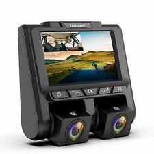 TOGUARD Uber Dual Dash Cam Full HD 1080P+1080P Inside And Outside Car Camera 3