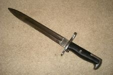 RARE WWII M1 GARAND BAYONET UNDATED UNION FORK AND HOE CUTDOWN NO DATE M1905