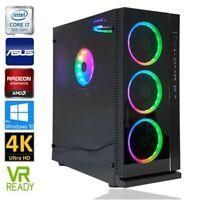 GAMER PC IntelCore i7-8700 16GB DDR4 Radeon RX580 256GB M.2 1TB SATA SSD 2TB HDD