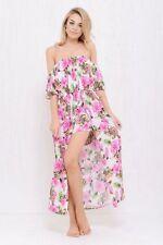 Rayon Summer/Beach Asymmetrical Hem Dresses for Women
