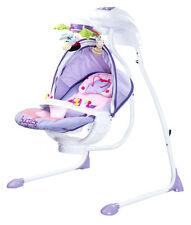 Caretero Bugies Babyschaukel Babywippe Violett