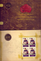 2008 $1 COIN & STAMP FOLDER: RUGBY LEAGUE  GOING  VERY  CHEAP