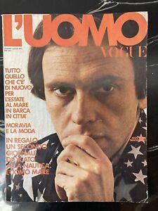 L'UOMO VOGUE J. L. TRINTIGNANT 1971 ED CONDè NAST RARE VINTAGE