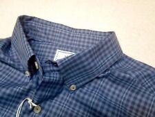 Southern Tide Stretch Cotton Blue Plaid Skipjack Sport Shirt NWT Large $99.50