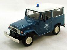 TOYOTA LAND CRUISER FJ40 Greece Police  -- 1/43 -- De Agostini - IXO -- NEW