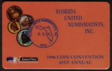 1996 Florida United Numismatists Convention 41st Annual FUN Coin Show Phone Card
