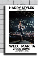 B-287 New Harry Styles 2018 Live on Tour Poster Art Fabric 40 24x36